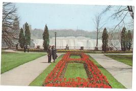 Canada Ontario Queen Victoria Park Tulip Time Niagara Falls Vintage Postcard - $4.99