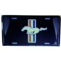 ford mustang auto cars logo license plate made in usa - $27.07