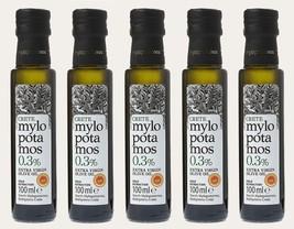 Mylopotamos PREMIUM Extra Virgin Olive Oil PDO CRETE Acidity 0.3% - 5 x ... - $59.90