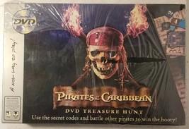 Disney's Pirates of The Caribbean DVD Treasure Hunt New Free US Shipping - $21.78
