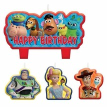 Toy Story Birthday Candle Set 4 pc Cake Topper - $5.93