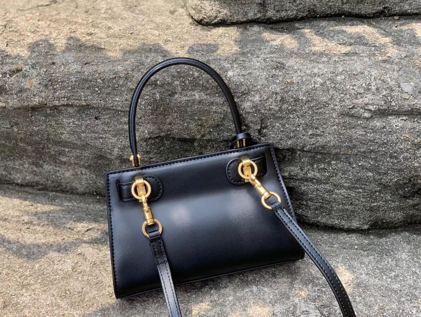 Tory Burch Lee Radziwill Leather Petite Bag