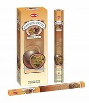 Hem Passion Fruit Sticks Incense Natural Fragrance Hand Rolled Indian Agarbatti  - $11.26