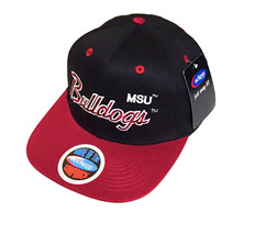 NCAA Mississippi State Bulldogs Black/Maroon MSU Snapbacks CAP - $15.83