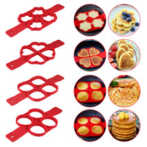 4 Holes Fantastic Frying Eggs Mold Silicone Non Stick - $21.13 CAD