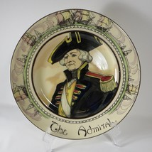 """Vintage Royal Doulton THE ADMIRAL Plate England D6278 Near Mint 10.5"""" - $39.59"""