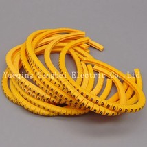 EC-2 4mm Cable Wire Markers Letter 0 to 9 X 600 Each 60pcs - $15.95