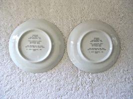 Vintage Set Of 2 1979 Avon Fine Porcelain 22 K Gold Trim Collector Plates  image 6