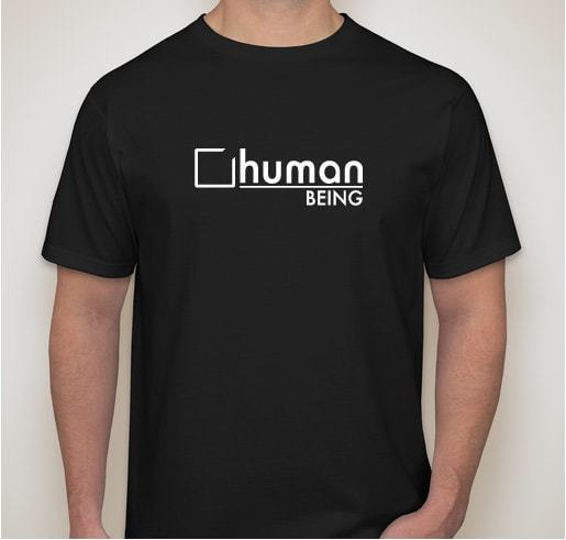 Human Being T Shirt in choice of size and color