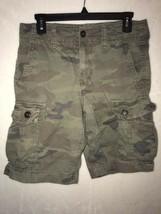 American Eagle AE Mens Army Camo Cargo Classic Length Shorts Size 30 5844 - $24.99