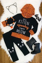 It's Kitten Spooky in Here Right Meow Hoodie Halloween 12/18 2 3 4 6 7 8... - $24.99