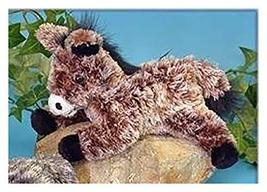 "Wishpets 8"" Pablo Brown Floppy Burro / Donkey Plush Toy - $11.49"