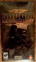 Sony Psp Socom Fireteam Bravo 2 New Demo Disc~ Rare~ Playstation Portable image 1