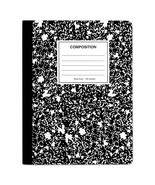 UNIVERSAL Composition Book College Rule 9 3/4 x 7 1/2 White 100 Sheets - $8.45