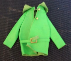 Francie 1512 Sears Exclusive Pretty Power Green Jacket with Belt - $23.76
