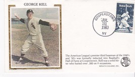 GEORGE KELL HOF INDUCTION EVENT COVER - $1.78
