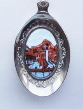 Collector Souvenir Spoon USA California Buena Park Knott's Berry Farm Porcelain - $9.99