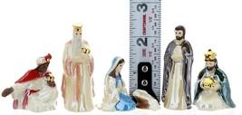 Hagen-Renaker Specialties Ceramic Nativity Figurine Jesus Mary Joseph Wise Men image 2