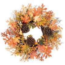 Darice Oak Leaf Wreath: 24 inches w - $39.99