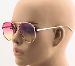 Designer Fashion Aviators Womens Sunglasses Metal Double Frame Mirror Lens - $6.95