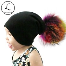GZHILOVINGL 10 Months   5 Years Wool Winter Solid Color Skullies Beanies... - $18.00