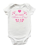 My First Mothers Day Onesie, Personalized First Mothers Day Onesie - $13.99