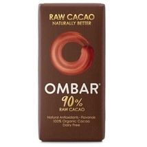 Ombar 90% Raw Chocolate Bar 35g - $6.65