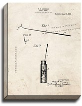 Pickle Spear Patent Print Old Look on Canvas - $69.95+