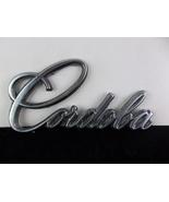"1975-1979 Chrysler ""Cordoba"" Chrome Metal Script Emblem OEM 3811450 - $12.00"
