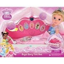 My First Disney Princess Royal Story Time Musical Bed - $65.53