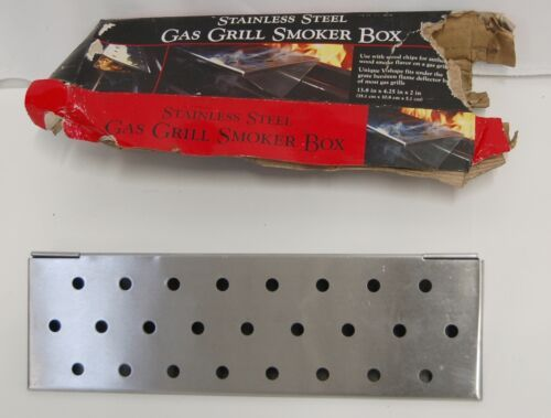 Charcoal Companion CC4066 Stainless Steel Gas Grill Smoker Box