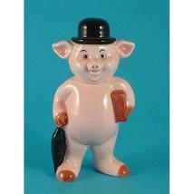 Danbury Mint 9.5cm pig figurine Piggies collection Piggy Banker - $19.50