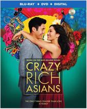 Crazy Rich Asians [Blu-ray + DVD + Digital]