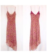 Laundry by Shelli Segal Silk Maxi Dress Size 8 EUC - $53.00