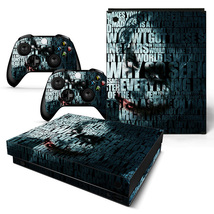 Joker Sticker Decal Design for Xbox One X Console + Two Controller Skins - $15.00