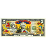 SuperDad Commemorative Colorized Two Dollar Bill - Perfect Father's Day ... - $14.00