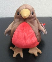 Ty Beanie Baby Early the Robin 5th Generation USED - $4.94