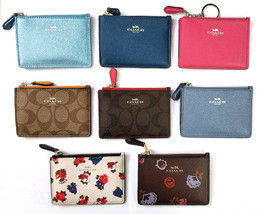 Coach Mini Skinny ID Case Key Pouch Coin Case, NEW W/ Coach Gift Box 8 W... - $31.00