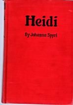 Heidi By Johanna Spyri (1939) - $4.95