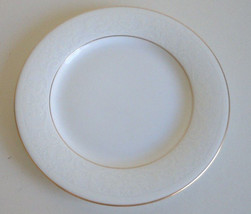 Nikko White Lace Gold Bread and Butter Plate - $6.30