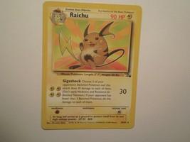 Pokemon Card - Raichu - (29/62) Fossil Set Rare Non Holo ***NM*** - $2.99