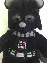 Build A Bear Star Wars Darth Vader Licensed Plush Stuffed Animal Doll - $11.87