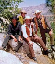 Bonanza Michael Landon Cast TKK Vintage 11X14 Matted Color TV Memorabili... - $13.99
