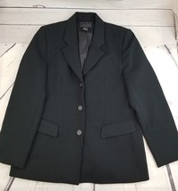 Laura Scott Size 12 Black Suit Jacket/Blazer - $9.89