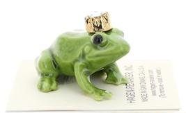 Hagen-Renaker Miniature Ceramic Frog Figurine Birthstone Prince 04 April image 2