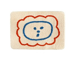 Romane Bathroom Floor Foot Rug Mat Non Slip Indoor Door Bath Matt (Lion)