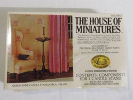 X-ACTO Queen Anne Candle Stand The House Of Miniatures Vtg  Collectors K... - $9.89