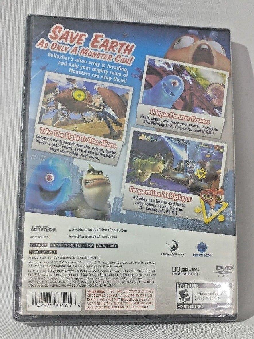 Monsters vs. Aliens (Sony PlayStation 2, 2009)