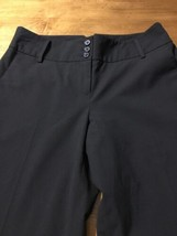 Ann Taylor Loft Women's Pants Black Adjustable Marissa Lined Pants Size ... - $29.69