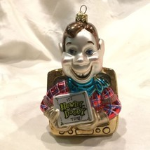 Vtg Howdy Doody TV Christmas Ornament Blown Glass NEW - $64.35